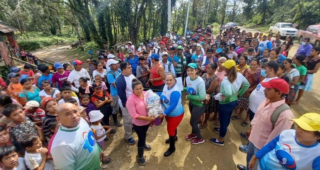 Más de 500 familias fueron beneficiadas por Fundación 10