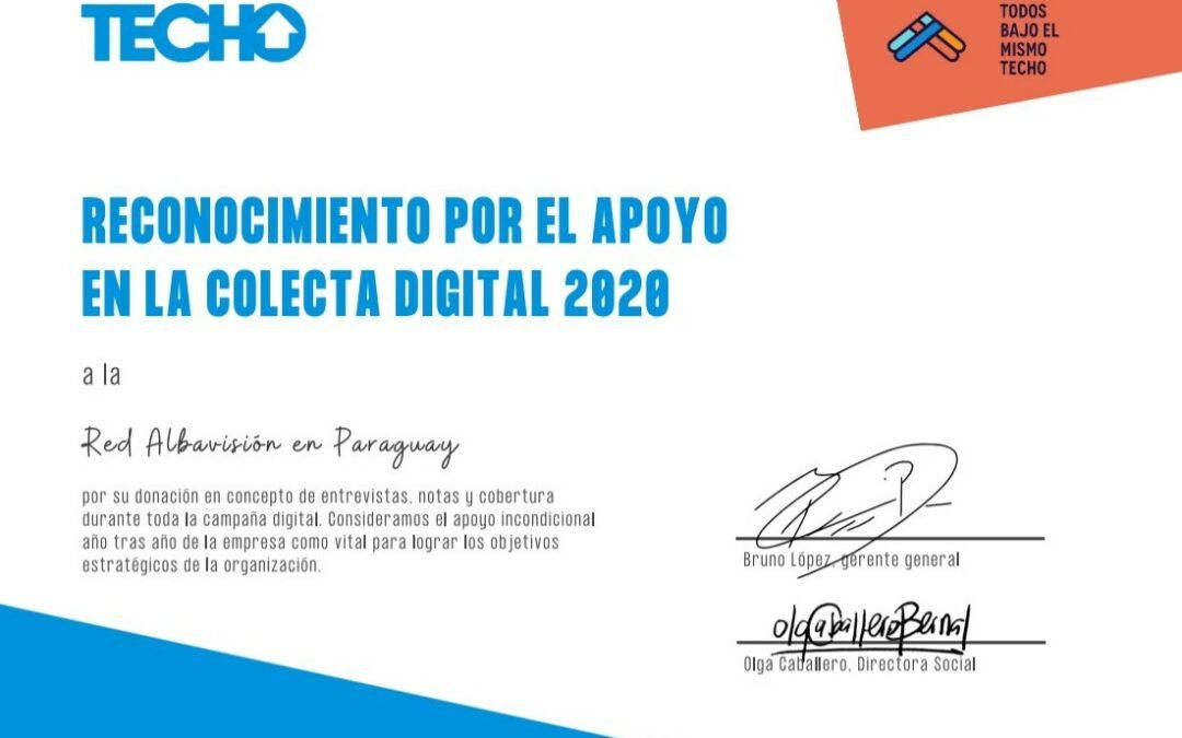SNT en apoyo de TECHO en Paraguay